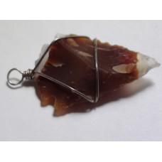 Jasper Handmade Pendant (Tooth design)