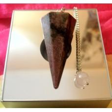 Rhodonite Pendulum/Pendant (LG)